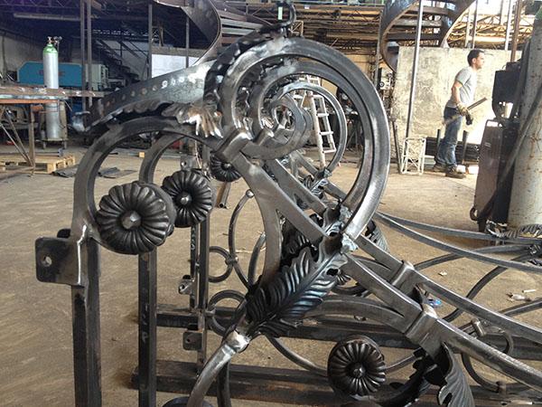 Ferro battuto roma design ferro battuto elementi for Arredamento ferro battuto